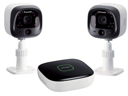 Panasonic DIY Indoor/Outdoor Home Surveillance Camera Kit