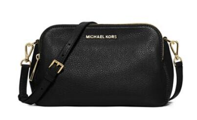 MICHAEL Michael Kors  Bedford Medium Double-Zip Messenger Bag @ Neiman Marcus