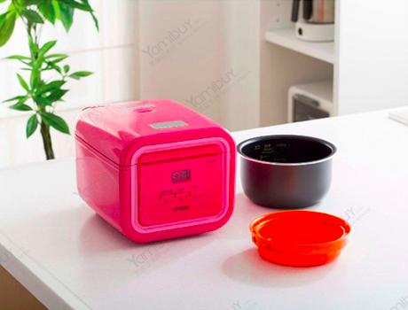 Free Tiger Stainless Steel Mug with Tiger 3-Cup Micom Rice Cooker and Warmer with Tacook Plate Purchase
