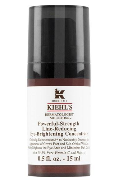 New Release Kiehl's launched New Powerful-Strength Line-Reducing Eye-Brightening Concentrate