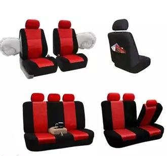 3D Air Mesh Car Seat Cover Set