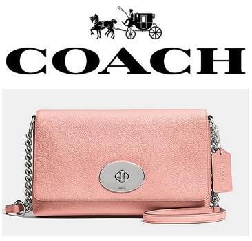 COACH Crosstown Crosbody in Polished Pebble Leather