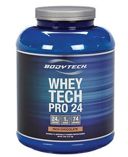 Buy one get one 50% off+additional 10% off BodyTech Whey Tech Pro 24 (5 Pound Powder)