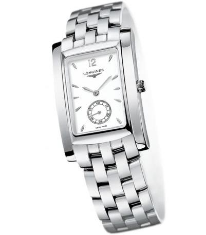 Longines DolceVita White Dial Stainless Steel Ladies Watch L5.655.4.16.6
