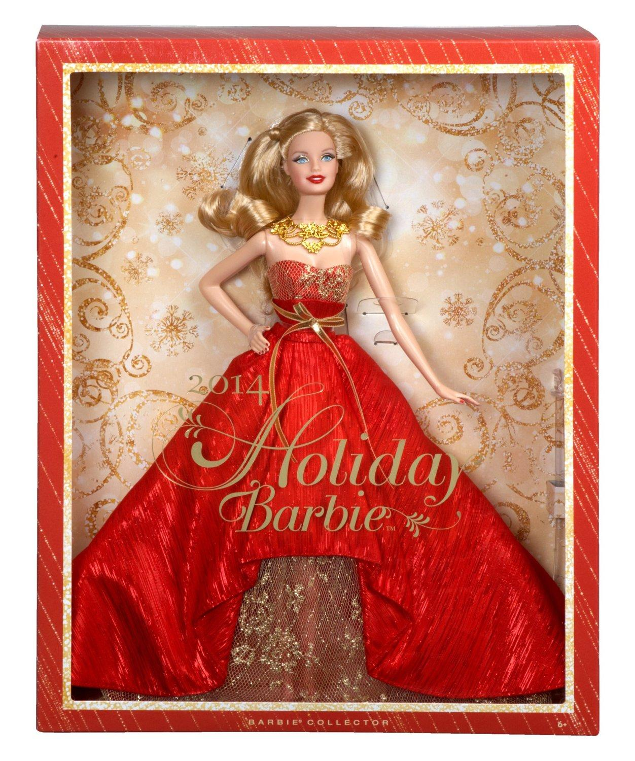 $10.65 Barbie Collector 2014 Holiday Doll