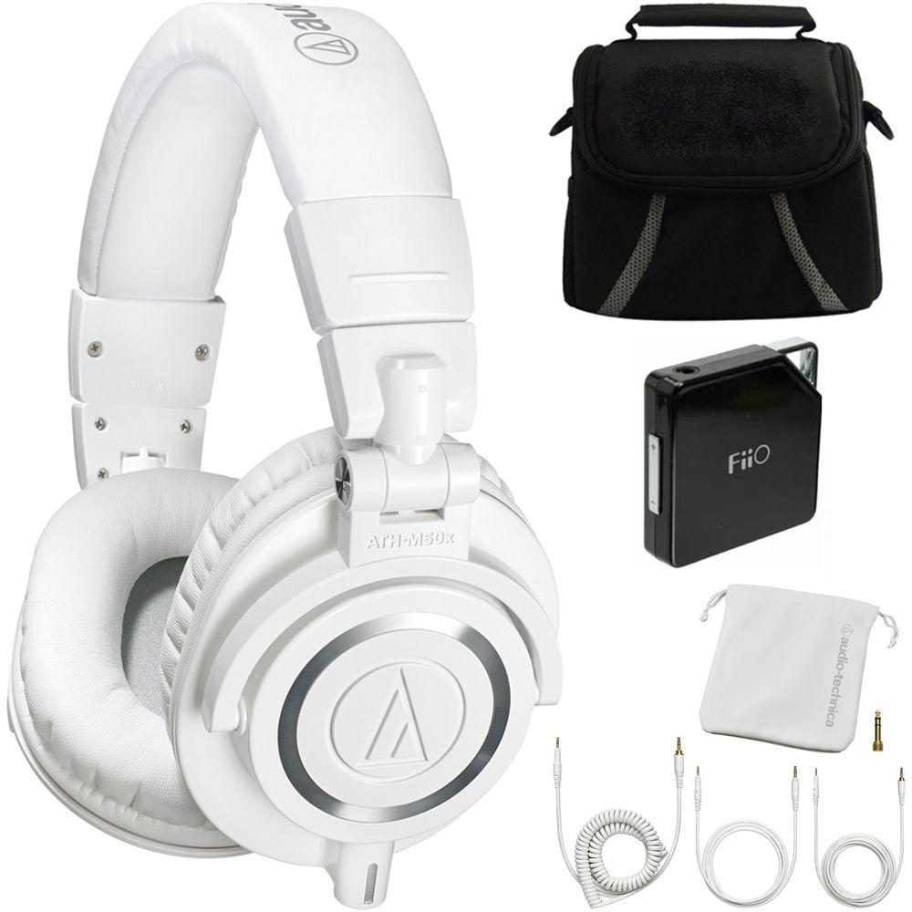 Audio-Technica ATH-M50X Studio Headphones Ultimate Bundle with$40 Visa gift card