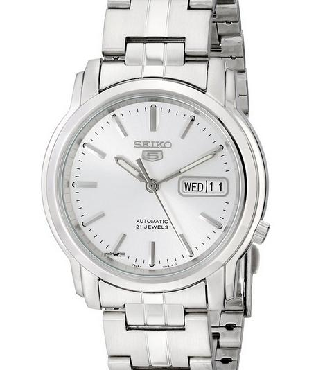 "$58.7 Seiko Men's ""Seiko 5"" Stainless Steel Watch"