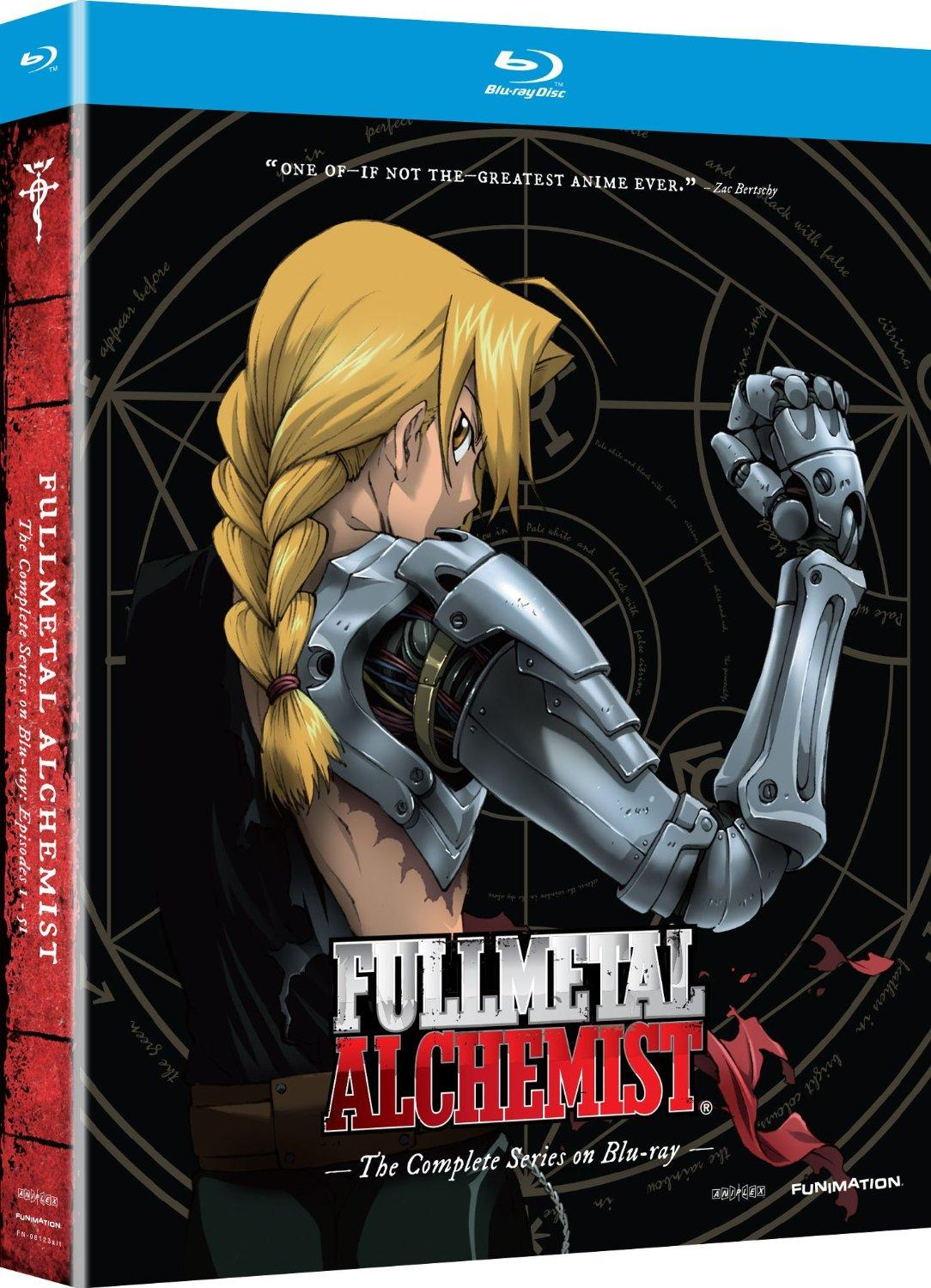 $34.99 Fullmetal Alchemist: The Complete Series [Blu-ray]