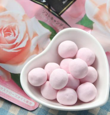 $5.39 Kracie Beauty Rose Taste Aroma Soft Candy [Size: 32g x 1 pack]