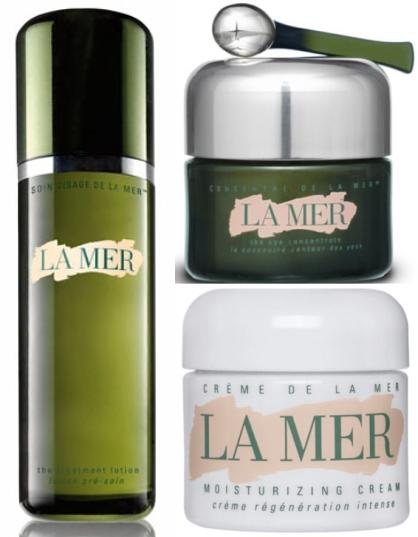 $500 + $75GC + Beauty Gift Set Creme de la Mer 1oz + The Treatment Lotion 5oz + The Eye Concentrate 0.5 oz