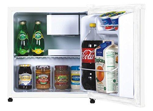 RCA RFR115-White 1.7 Cubic Foot Fridge, White