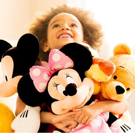 $16 Each 2 or More Plush Toys @ Disney Store