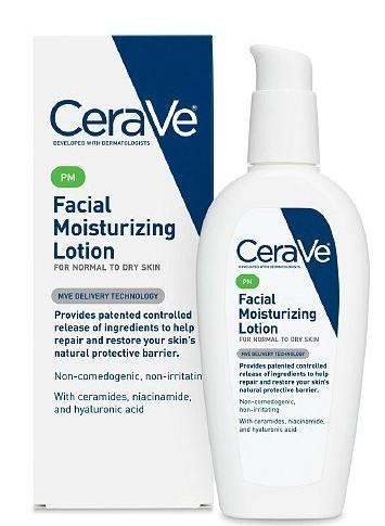 $7.40 CeraVe Moisturizing Facial Lotion PM, 3 Ounce