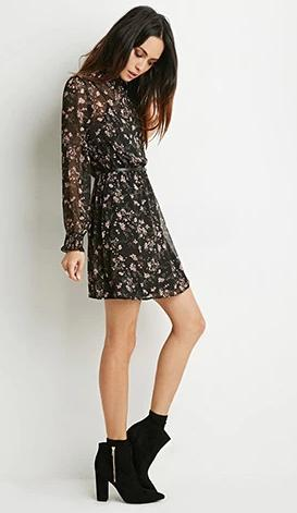 Under $25 + Extra 10% Off Fall's Best Dresses Sale @ Forever21.com
