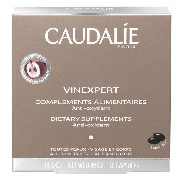 Buy 2 Get 1 Free with Caudalie Vinexpert Anti Ageing Supplements(30 Caps)