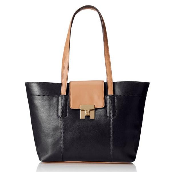 Tommy Hilfiger Turnlock Travel Tote