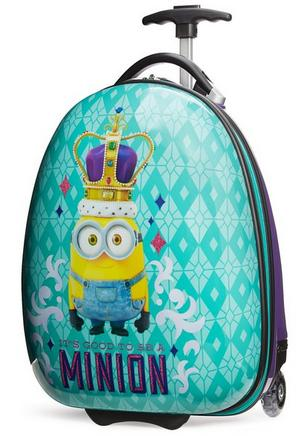 $38.2 Travelpro Minions Kid's Hard Side Luggage