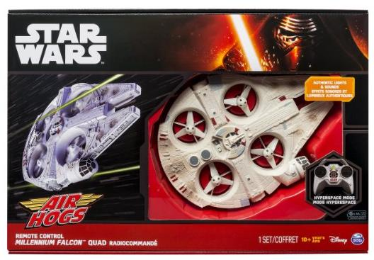 Lowest price! $53.99 Air Hogs Star Wars Remote Control Ultimate Millennium Falcon Quad
