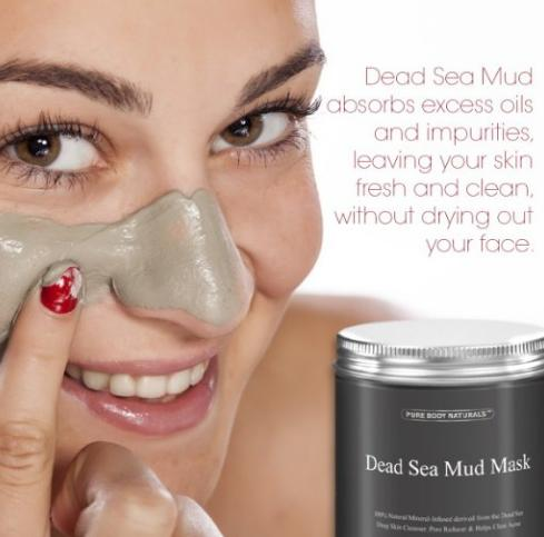 #1 Best seller! Pure Body Naturals Dead Sea Mud Mask