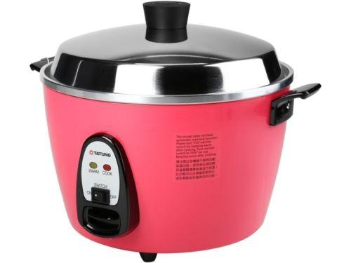 TATUNG TAC-10GS-PH Peach Red Multi-Function Cooker