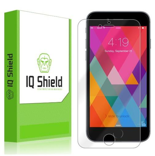 IQ Shield Apple iPhone 6S Plus Screen Protector with Lifetime Replacements