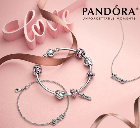 Free Charm with $125 Purchase @ Pandora
