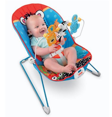 Fisher-Price Adorable Animals Baby's Bouncer @ Amazon.com