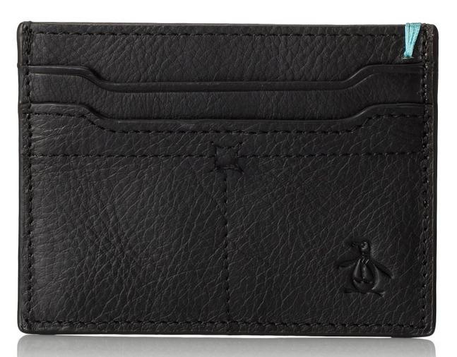 Original Penguin Men's Dudley Leather Card