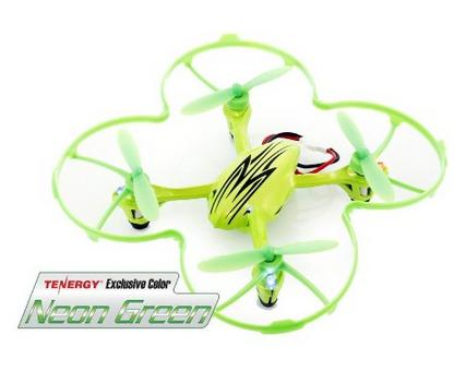 Tenergy Exclusive Color Hubsan X4 4 Channel 2.4GHz RC Quad Copter