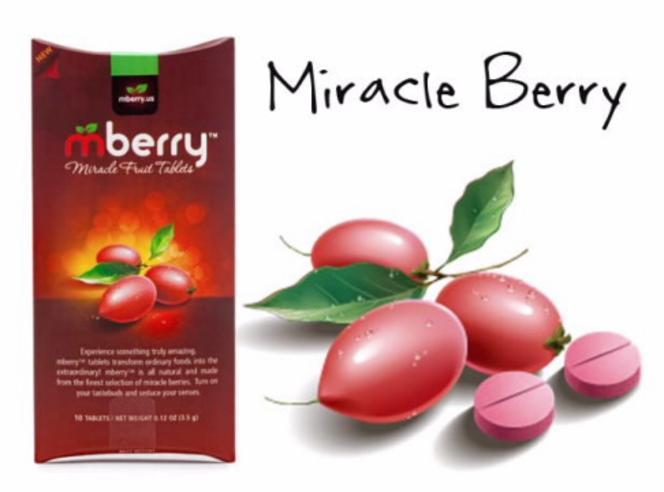 Recommended Amazon Item of the Week $13.90 mberry Miracle Fruit Tablets, 10-Count