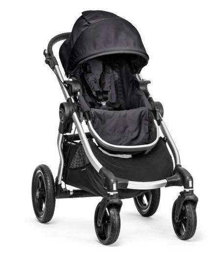Baby Jogger City Select Stroller In Onyx, Silver Frame @ Amazon.com