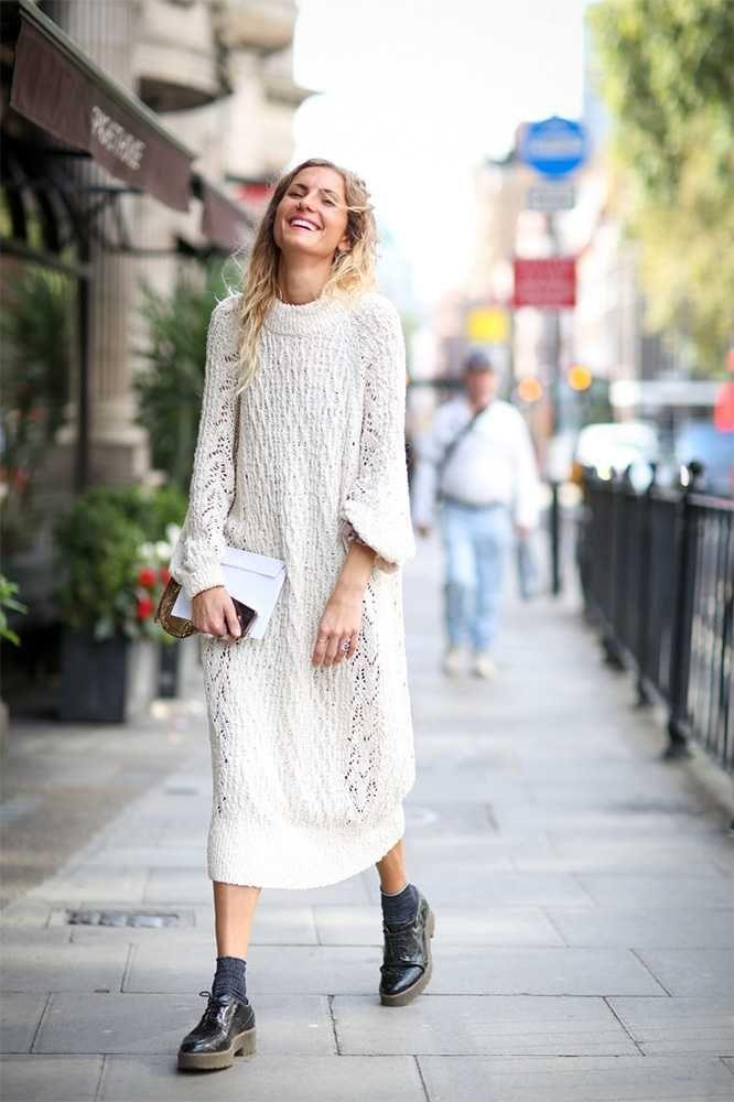 From $27 Knit Dress for Fall @ ASOS
