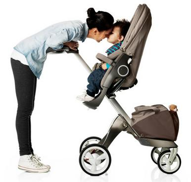 Stokke XPLORY Basic Stroller in Brown @ Albee baby