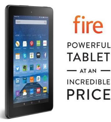 "New release! $49.99 Amazon Kindle Fire 7"" Wi-Fi 8GB Tablet"