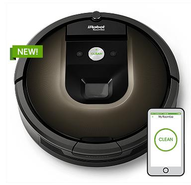 $899.99 iRobot Roomba 980 Vacuum Cleaning Robot