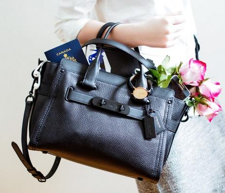 Extra 25% off with Purchase of 2 or More COACH SWAGGER Bags @ macys.com