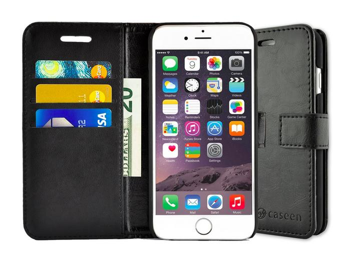 Ottimo Wallet Synthetic Leather Wallet Case for iPhone 6S/iPhone 6