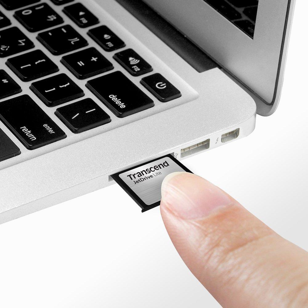 $36.99 Transcend 64GB JetDrive Lite 130 Storage Expansion Card for 13 Macbook Air