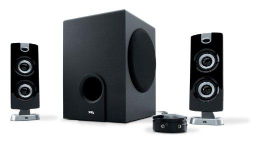 Cyber Acoustics 30 Watt Powered Speakers with Subwoofer for PC and Gaming Systems in Frustration Free Packaging