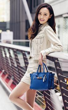 COACH Pebbled Coach Swagger Carryall @ 6PM.com