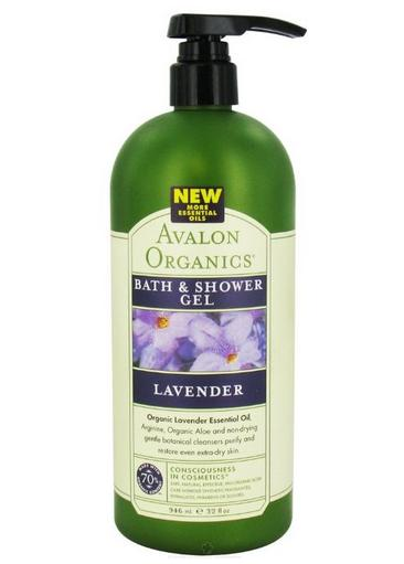 Hot $17.03 Avalon Organics Lavender Bath & Shower Gel, 32 Ounce