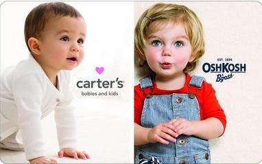 20% Off Carters Oshkosh Gift Card