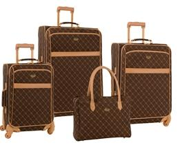 $129.97 Travel Gear Orion 4 Piece Spinner Luggage Set