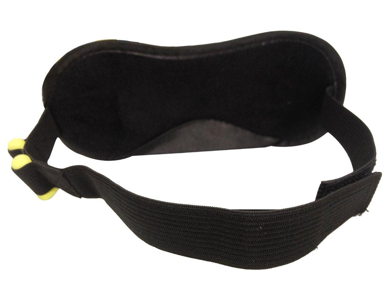 Attmu Sleep Mask and Blindfold, Sleep Eye Mask with Ear Plugs, Set of 2