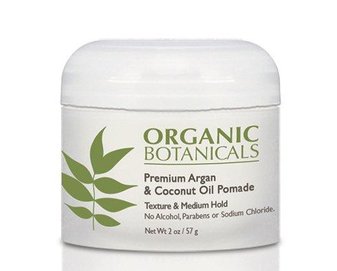Organic Botanicals Argan Oil and Coconut Oil Pomade
