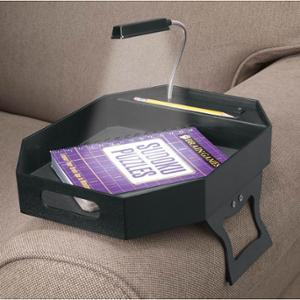 Miles Kimball   Armrest Coffee Tray With LED Light: Kitchen & Dining