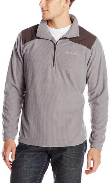 From $12.77 Columbia Men's Grid Line Half Zip Fleece