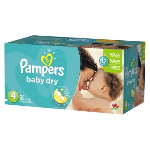 $34.99 + Free $10 Gift Card 2 box Pampers Diapers