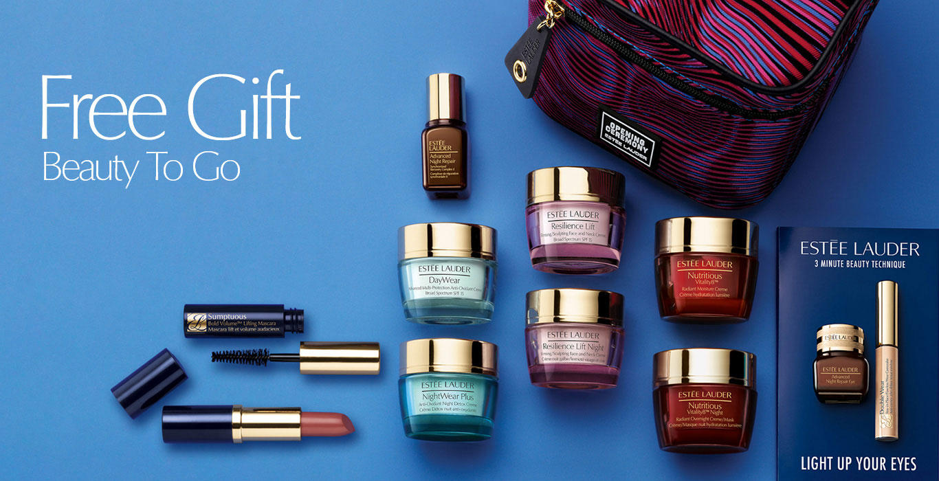 Free 10-pcs Gift (Worth Over $150) with $75 Purchase @ Estee Lauder