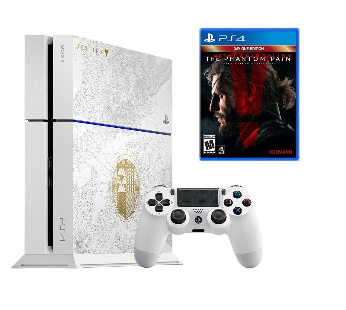$399.99 PlayStation 4 Limited Edition Destiny: The Taken King 500GB Bundle with Metal Gear Solid V